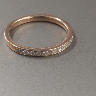 ヨンドシー(4℃)の 4°C   18金 ダイヤモンド リング(リング(指輪))
