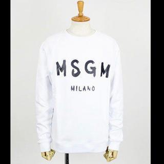 エムエスジイエム(MSGM)のMSGM メンズ 長袖トレーナー(Tシャツ/カットソー(七分/長袖))
