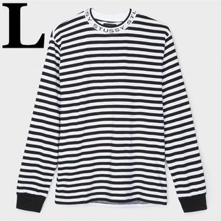 ステューシー(STUSSY)の(L) Stussy Jacquard Neck L/S Jersey(Tシャツ/カットソー(七分/長袖))