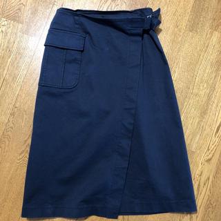 アウィーエフ(AuieF)のAuieF ラップスカート(ひざ丈スカート)