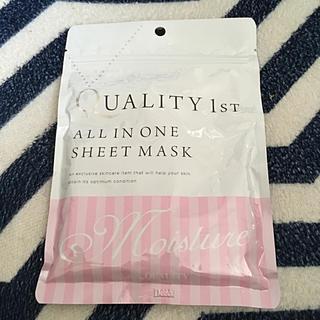 クオリティファースト(QUALITY FIRST)のシートマスク(パック / フェイスマスク)