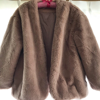 ジーユー(GU)のGU ファーコート(毛皮/ファーコート)