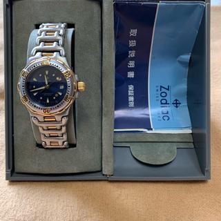 ゾディアック(ZODIAC)のゾディアックプロフェショナルダイバーレディース200mクオーツ(腕時計)