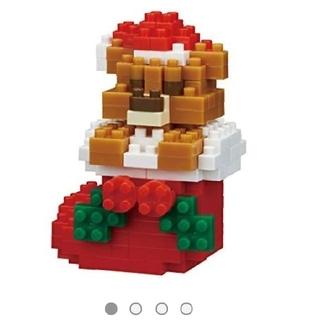 カワダ(Kawada)のナノブロック クリスマステディベア(模型/プラモデル)