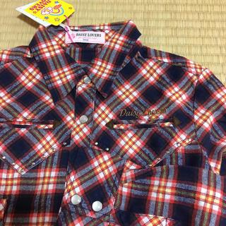ディジーラバーズ(DAISY LOVERS)の女の子 140 デイジーラバーズ ネルシャツ(Tシャツ/カットソー)