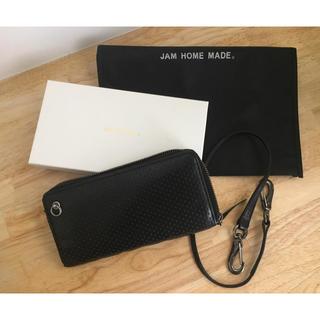 ジャムホームメイドアンドレディメイド(JAM HOME MADE & ready made)のJAM HOME MADE ロングウォレット& レザー ウォレット コード(長財布)