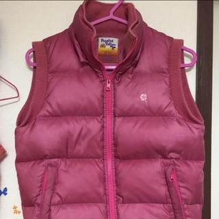コムサコレクション(COMME ÇA COLLECTION)のコムサコレクション 可愛いピンクの ダウンジャケット S(ダウンジャケット)