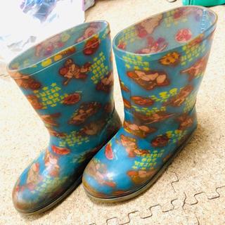 スーパーブーホームズ(SUPER BOO HOMES)の19cmEE  スーパーブーホームズ  長靴 レインブーツ(長靴/レインシューズ)