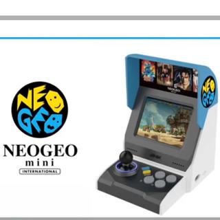 ネオジオ(NEOGEO)の送料込み NEOGEO mini 海外版(家庭用ゲーム本体)