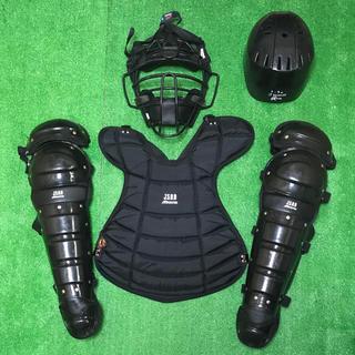 ミズノ(MIZUNO)のタクヤ様専用 軟式キャッチャー プロテクター 防具 セット 黒 mizuno (防具)