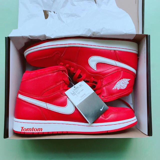 NIKE(ナイキ)の【ウサネコ様専用】AIR JORDAN 1 RETRO HIGH OG  メンズの靴/シューズ(スニーカー)の商品写真