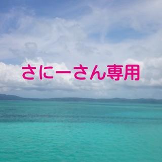 シマムラ(しまむら)の120 赤色ネルシャツ ニット切り替え(ブラウス)