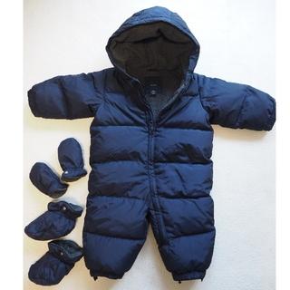 ベビーギャップ(babyGAP)のBabygap ダウンジャンプスーツ(ジャケット/コート)