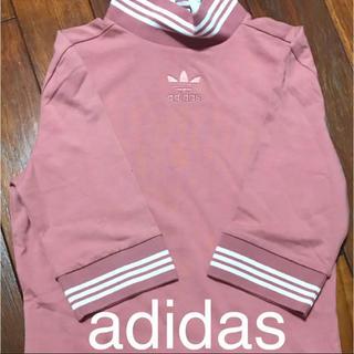 アディダス(adidas)のadidas ハイネックトップス(カットソー(長袖/七分))