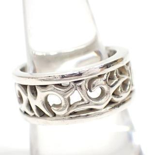 A707 美中古 ブラッディーマリー MB シルバー 指輪 19号 10g(リング(指輪))