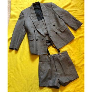 タイヨー(TAIYO)の子供服 TAIYO ジャケット&サスペンダー付きズボン(ジャケット/上着)