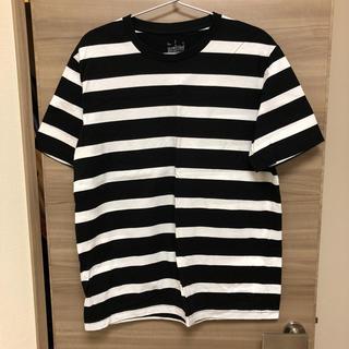 ムジルシリョウヒン(MUJI (無印良品))の無印 ボーダーTシャツ(Tシャツ/カットソー(半袖/袖なし))