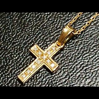 エスオーエスエフピー(S.O.S fp)の最終値下げ シンパシーオブソウル クロス 18金 ダイヤ(ネックレス)