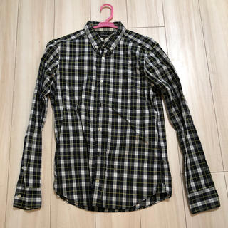トランスコンチネンツ(TRANS CONTINENTS)のトランスコンチネンツ チェックシャツ サイズL(シャツ)