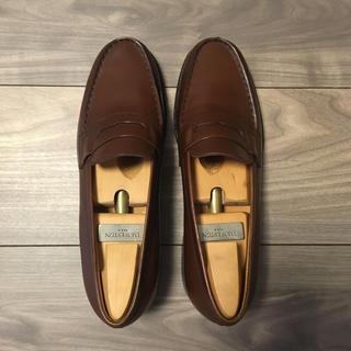 ジェーエムウエストン(J.M. WESTON)のJ.M.WESTON 180 タンブラウン 旧ロゴ ローファー(ローファー/革靴)