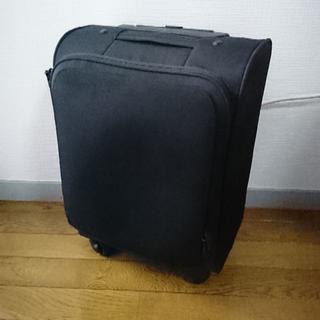 ムジルシリョウヒン(MUJI (無印良品))の無印良品 ソフトキャリーS 旧モデル ブラック(スーツケース/キャリーバッグ)