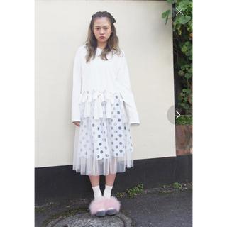 メリージェニー(merry jenny)のメリージェニー ドットスカート(ひざ丈スカート)