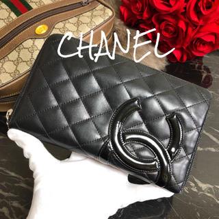 シャネル(CHANEL)の限定 CHANEL シャネル ラウンドファスナー オーガナイザー 長財布(財布)