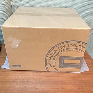 バルミューダ(BALMUDA)のバルミューダ トースター ブラック K01E-KG 新品未開封(調理機器)