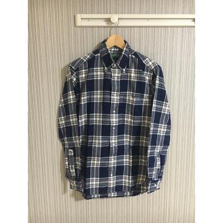 インディヴィジュアライズドシャツ(INDIVIDUALIZED SHIRTS)の美品 GITMAN VINTAGE フランネルBDシャツ M チェック(シャツ)