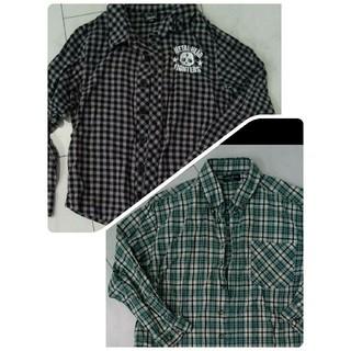 シスキー(ShISKY)の130 シャツ 2枚セット SHISKY シスキー 男児 チェックシャツ 長袖(Tシャツ/カットソー)