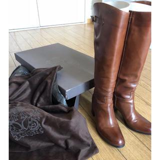 サルトル(SARTORE)のサルトル ★ ロング ブーツ 茶 ★36 ハーフ 23.5cm(ブーツ)