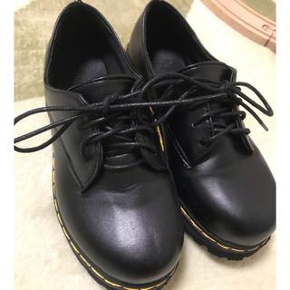 値下げ!マニッシュシューズ 黒(ローファー/革靴)