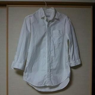 ドゥニーム(DENIME)のドゥニーム 白シャツ(Tシャツ/カットソー(七分/長袖))