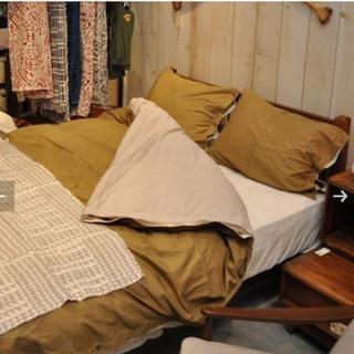 大掃除最終値下げ!!ACME Furniture 掛け布団カバー+枕カバー2枚(ダブルベッド)