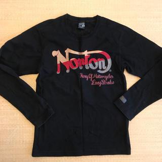 ノートン(Norton)のNorton ノートン ロンt tシャツ  ブラック(Tシャツ/カットソー(七分/長袖))