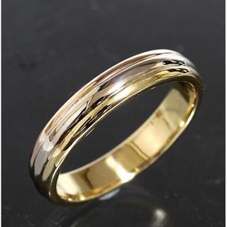 カルティエ(Cartier)のカルティエ cartier スリーカラー リング size67 K18 仕上済(リング(指輪))