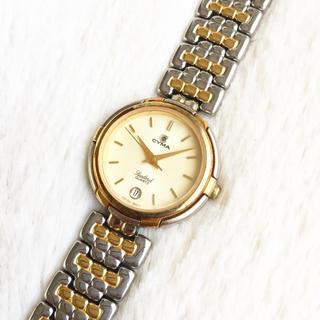 シーマ(CYMA)の電池交換込み☆ CYMA スイス製 レディース腕時計(腕時計)