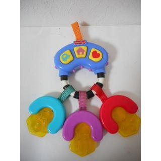 フィッシャープライス(Fisher-Price)のフィッシャープライス かみかみミュージカルキー(赤ちゃんの歯固め&おもちゃ)(がらがら/ラトル)