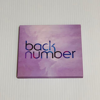 back number シャンデリア 初回限定盤A