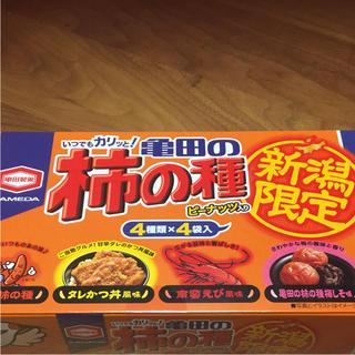 カメダセイカ(亀田製菓)の亀田 柿の種(菓子/デザート)