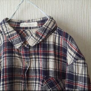 ネイビーナチュラル(navy natural)のチェックシャツ(シャツ/ブラウス(長袖/七分))
