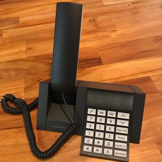 ジョージジェンセン(Georg Jensen)のBang & Olufsen レア!デンマーク製 電話機 ブラック(左)(その他 )