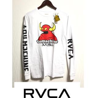 トイマシーン(Toy Machine)のSサイズ TOY MACHINE x RVCA  トイマシーン ルーカ ロンT(Tシャツ/カットソー(七分/長袖))
