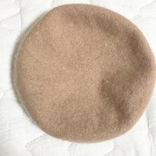 ロキエ(Lochie)の【早い者勝ち】ベレー帽 ベージュ トレンド(ハンチング/ベレー帽)