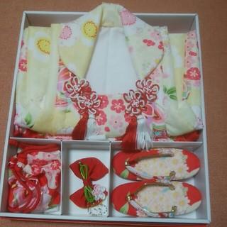 七五三 3歳女の子 美品(和服/着物)