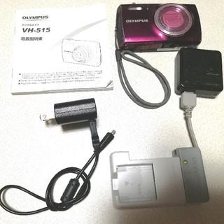 オリンパス(OLYMPUS)のオリンパスデジカメ ワインレッドボルドー(コンパクトデジタルカメラ)