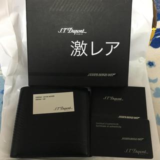 エステーデュポン(S.T. Dupont)のstデュポン007シリーズ2007年二つ折り財布(財布)