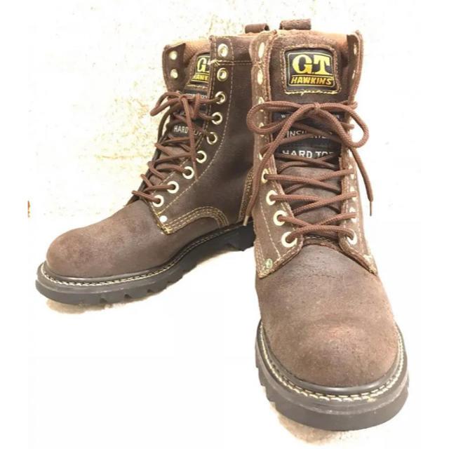 G.T. HAWKINS(ジーティーホーキンス)のGT HAWKINS 革ブーツ メンズの靴/シューズ(ブーツ)の商品写真