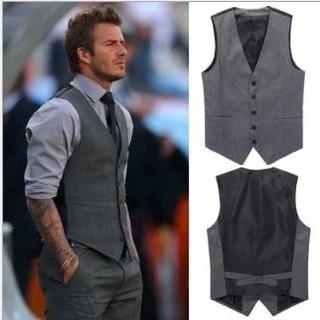 【高品質】ベスト メンズ スーツ フォーマル M L XL ブラック グレー(スーツベスト)