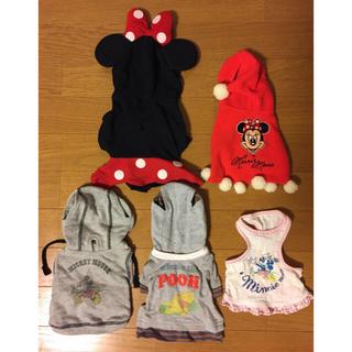 ディズニー(Disney)の犬 洋服 5枚セット サイズ3S(ペット服/アクセサリー)